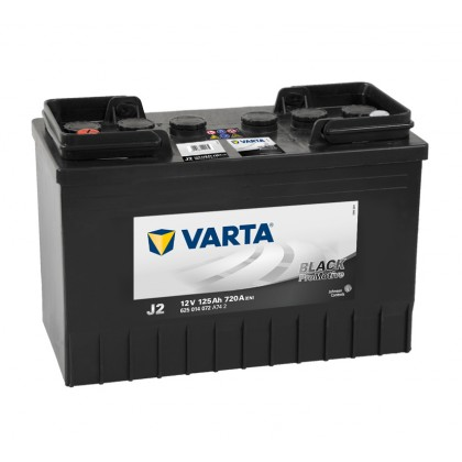VARTA Promotive Black J2 625014072A742