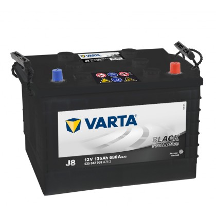 VARTA Promotive Black J8 635042068A742