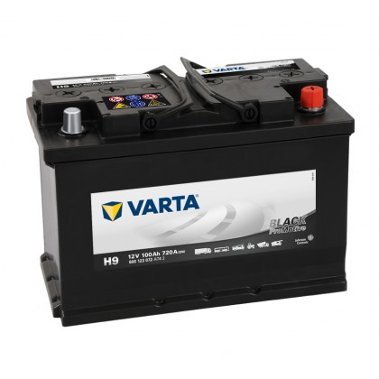 VARTA Promotive Black H9 600123072A742