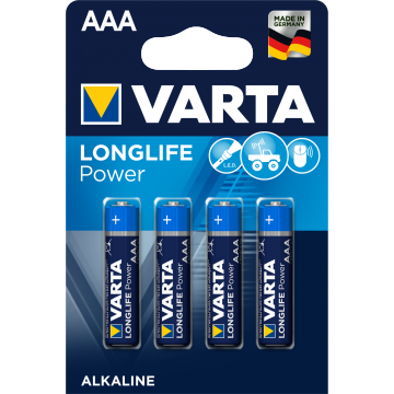 Varta Longlife Power AAA B4 / Vorher High Energy AAA B4