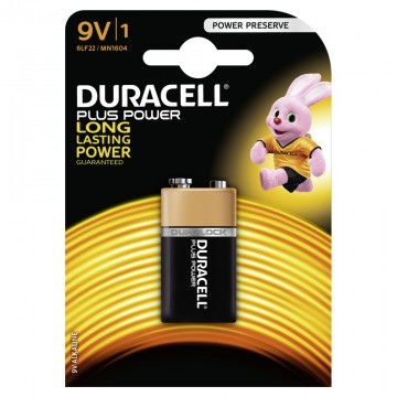 Duracell Plus Power 9V B1