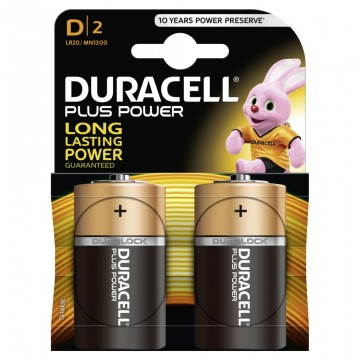 Duracell Plus Power D B2