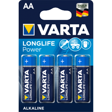 Varta Longlife Power AA B4 / Vorher High Energy AA B4