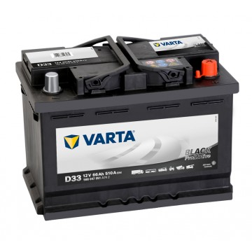 VARTA Promotive Black D33 566047051A742
